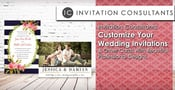 Invitation Consultants: Customize Your Wedding Invitations & Other Cards With Beautiful Professional Designs