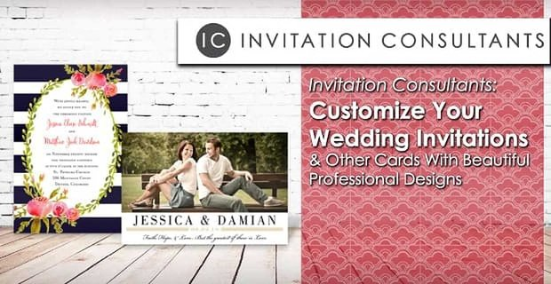 Invitation Consultants Customize Wedding Invitations With Professional Designs
