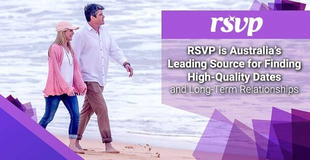 Rsvp Australias Leading Source For High Quality Dates