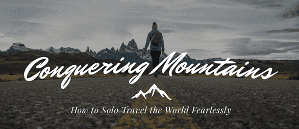 Screenshot of Conquering Mountains: The Guide to Solo Female Travel book page