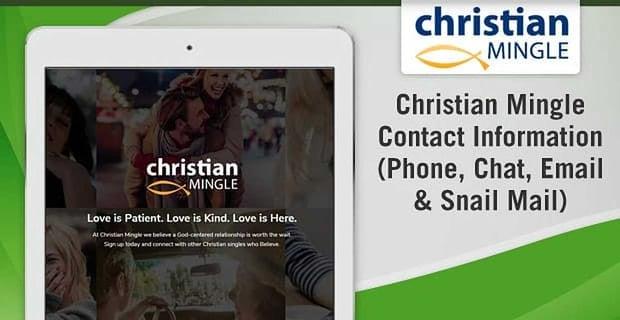 Christian Mingle Contact
