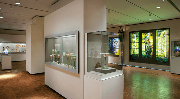 Photo of the interior of the Chrysler Museum of Art