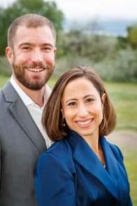 Photo of Dr. Jenni Skyler and her husband, Daniel
