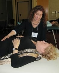 Photo of Dr. Erica Goodstone using somatic psychotherapy