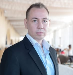 Photo of Mikael Löfberg, CEO of BlindDate.com