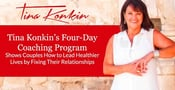 Tina Konkin's Four-Day Coaching Program Shows Couples How to Lead Healthier Lives by Fixing Their Relationships