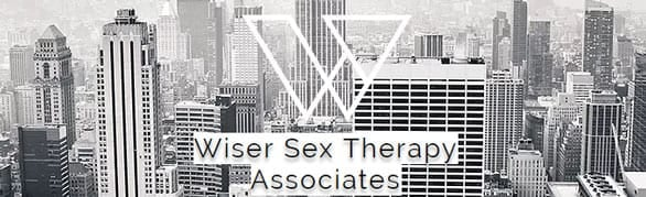 Screenshot of Wiser Sex Therapy Associates logo and background