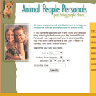 Animal People Personals