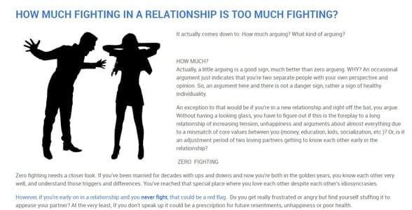 Screenshot from Dr. Margot's blog