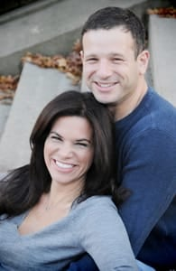Photo of Michelle Frankel and her husband