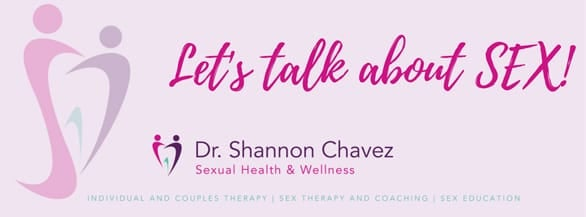 Screenshot of a Dr. Shannon Chavez banner