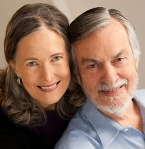 Photo of Dr. Harville Hendrix and Dr. Helen LaKelly Hunt, internationally recognized couples therapists