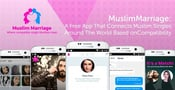 MuslimMarriage: A Free App That Connects Muslim Singles Around The World Based on Compatibility