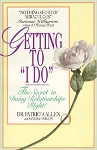 Cover of Getting to I Do by Dr. Pat Allen