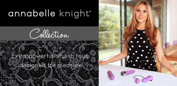 Banner for Annabelle Knight's sex toy collection