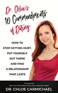 Photo of Dr. Chloe's book 10 Commandments of Dating