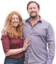 Photos of Evolve Dating Gurus Co-Founders Kendra Seoane and Chris DeCicco