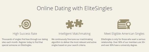 screenshot of EliteSingles attributes