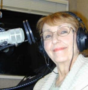 Photo of Dr. Pat Allen podcasting