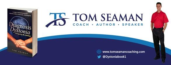 Photo of a Tom Seaman book banner
