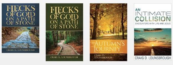 Screenshot of Craig D. Lounsbrough books
