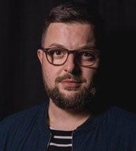 Photo of Sebastian Matkey, LOVOO's Senior PR and Content Marketing Manager