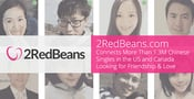 2RedBeans.com Connects More Than 1.3M Chinese Singles in the US and Canada Looking for Friendship & Love
