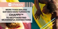 More Than 500,000 Gay Men Have Turned to Chappy™ to Help Them Find Meaningful Connections