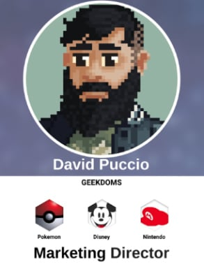 Screenshot of David Puccio's Marketing Director profile on DragonFruit