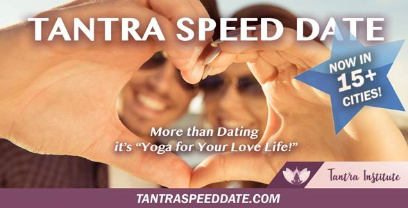 Photo of a Tantra Speed Date flyer