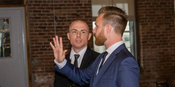 Photo of LFGdating Co-Founders Casey Tebo and Patrick Rafferty