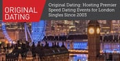 Original Dating: Hosting Premier Speed Dating Events for London Singles Since 2003