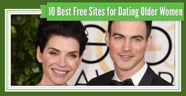 10 Best Sites for Dating Older Women (100% Free Trials)