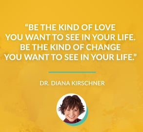 Screenshot of Dr. Diana Kirschner quote