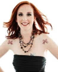 Photo of Karine Charbonneau, Co-Founder of Find Veg Love
