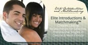 Elite Introductions & Matchmaking™ Creates Lasting Relationships for Selective, Professional Singles in Central & West Florida