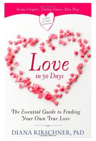 Screenshot of Love in 90 Days book cover