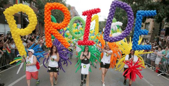 Photo of the Chicago Pride Parade