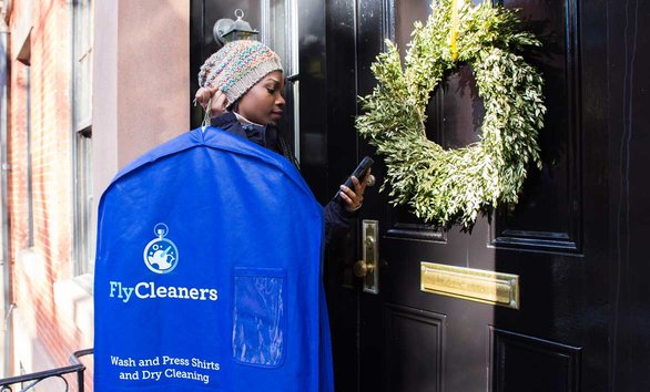 Photo of FlyCleaners delivery