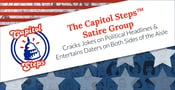 The Capitol Steps™ Satire Group Cracks Jokes on Political Headlines & Entertains Daters on Both Sides of the Aisle