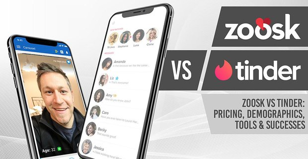 Zoosk vs Tinder: Pricing, Demographics, Tools & Successes