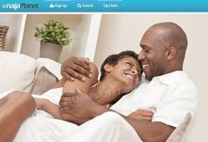 Screenshot of Naijaplanet's homepage