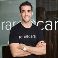 Photo of Rare Carat Founder Ajay Anand