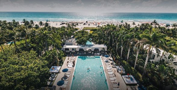 Photo of the Shore Club's pool