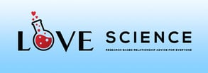 Screenshot of the Love Science Media banner logo