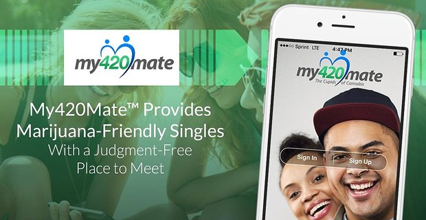 My420mate Connects Marijuana Friendly Singles