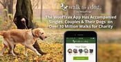 The WoofTrax App Has Accompanied Singles, Couples & Their Dogs on Over 30 Million Walks for Charity