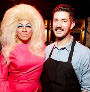 Photo of Juanita MORE and Chef Cole Church