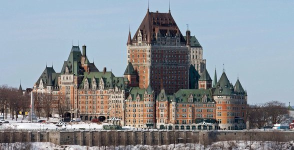 Photo of the Château Frontenac in Quebec City