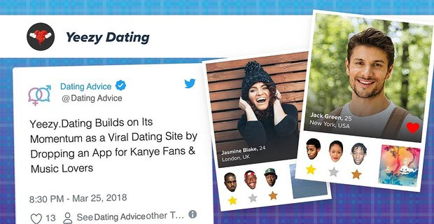 Yeezy Dating Drops An App For Kanye Fans